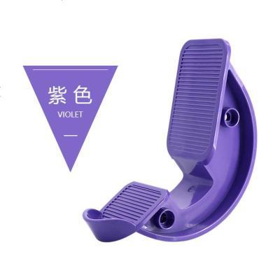 紫色拉筋板 拉筋鞋瑜伽健身拉筋器脚底按摩脚踏板拉筋凳瘦小腿抻筋板