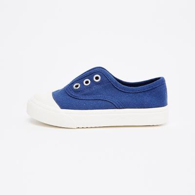 【2件2.5折價:42.3】moomoo童裝幼童夏季帆布鞋女夏季小寶寶一腳蹬帆布鞋童