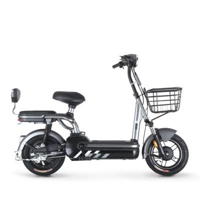 绿源新国标电动车成人48V20A锂电池电瓶车FEG女士代步电动自行车