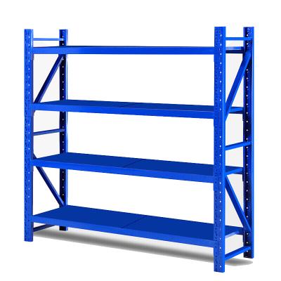 歐寶美倉儲貨架超市倉庫架展示架輕型四層貨架200*45*180(定制款)