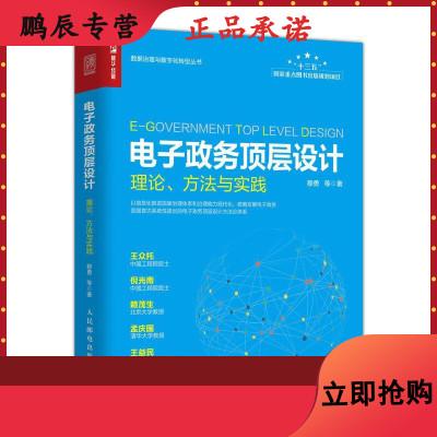 電子政務頂層設計 理論 方法與實踐 數字中國,數字 中國政務體系架構框架 電子政務建設培訓用書