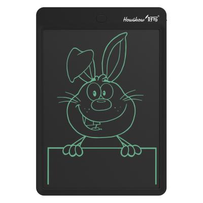 好寫(howshow)液晶手寫板 兒童涂鴉繪畫板 商務草稿板 12英寸寫字板無塵小黑板 手繪板電子畫板 H12L黑色