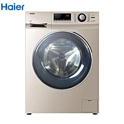 【99新】 Haier/海爾 EG8012BKX28GU1 變頻自清潔高溫洗滾筒洗衣機 8公斤物聯網大容量下排水智能