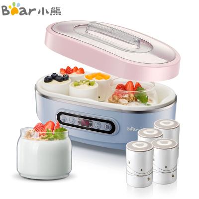 小熊(Bear)酸奶納豆機 家用全自動泡菜米酒機 微電腦式玻璃雙內膽和陶瓷8分杯 SNJ-A15K1