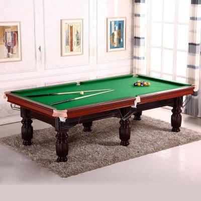 运动户外台球桌标准成人美式黑8大理石案子16彩家用二合一乒乓桌球台放心购