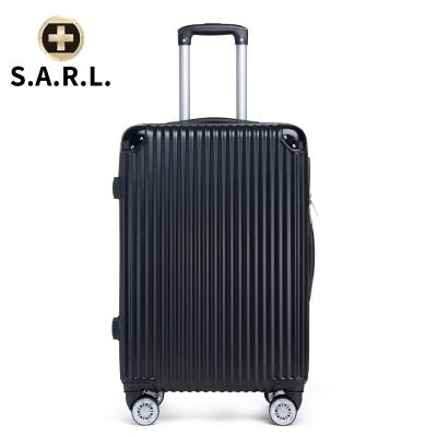 S.A.R.L брэндийн чемодан 78001 хар 22 инч
