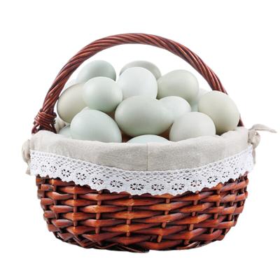 农家散养生鸭蛋30枚装 60克-75克 新鲜鸭蛋草鸭蛋 青皮 土鸭蛋