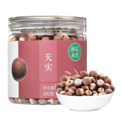 潤弘永堂(runhongyongtang) 芡實200g/罐 雞頭米 紅芡實 圓粒原粒芡實