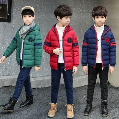 【品牌特卖】反季男孩童装冬装外套男童棉衣中大童儿童羽绒棉服轻薄款棉袄短款 迈诗蒙(Mai Shi Meng)