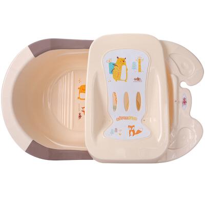 日康(rikang)吉米婴儿洗澡盆RK-3626坐躺通用加厚沐浴盆(颜色随机)