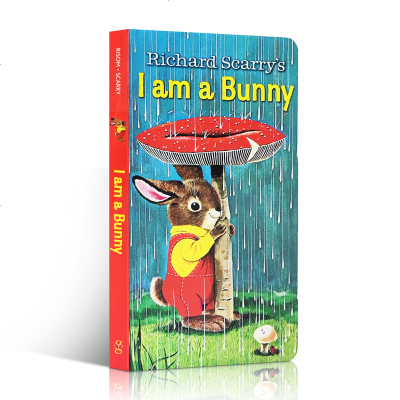 Anthony Browne 英文原版 I Am A Bunny/Guess How much I love you