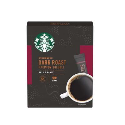 星巴克深度烘焙精品速溶咖啡23克(內含10條)