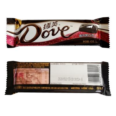 德芙Dove德芙香濃黑巧克力排塊香濃黑巧克力43g