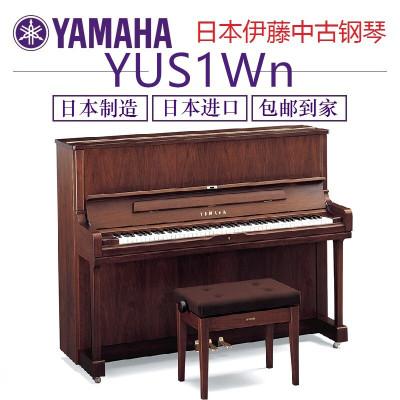 二手雅馬哈鋼琴YAMAHA W120 U10 U100 W1A YU1 YU10 YUS1Wn2006年-至今 啞光黑色