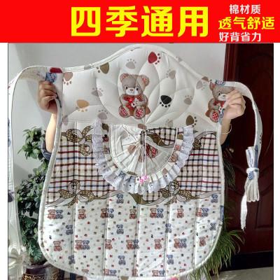哈趣传统背带老式云南贵州四川宝宝婴儿童背被纯棉前抱后背式背扇