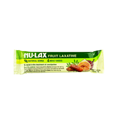 澳洲Nu-lax 樂康條 樂康膏 40g 1條裝 便攜裝 果蔬 助腸動排便清宿便(膳食營養補充劑)澳大利亞進口