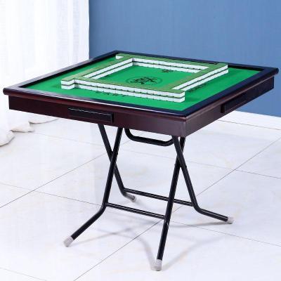 精品时尚家具 [就]麻将桌 折叠麻将桌子家用简易棋牌桌 手搓手动宿舍两用 低价疯抢 厂家直销