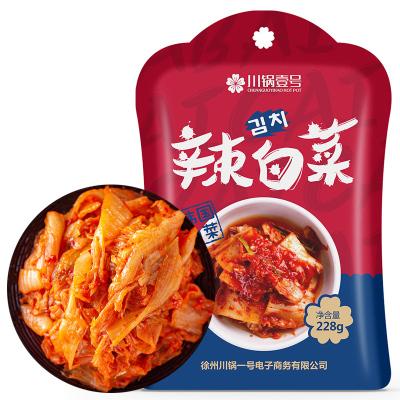 川锅壹号 辣白菜228g 韩国泡菜 下饭菜 朝鲜咸菜 配方腌制