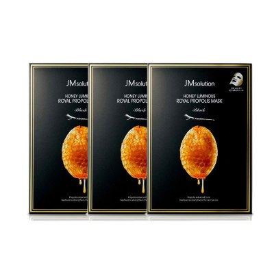 3盒 | JMSOLUTION肌司研蜜莹润蜂胶面膜30g*10片