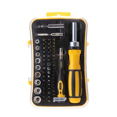 鉻釩鋼精密電子維修螺絲批組套65件手機維修螺絲刀套裝 DL3565