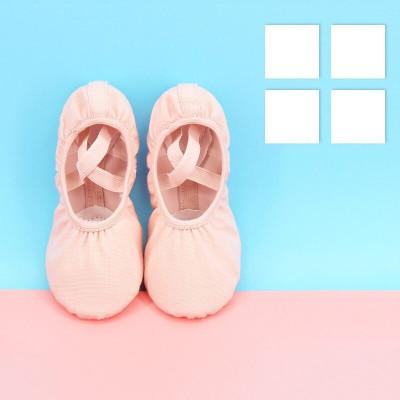 因樂思(YINLESI)舞蹈鞋 男童 兒童舞蹈鞋男童女童軟底練功鞋幼兒園男孩寶寶小孩女孩黑色跳舞鞋