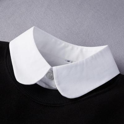 假领娃娃领假领子白色假衣领毛衣装饰领子黑色