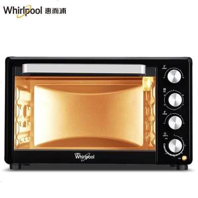 惠而浦(Whirlpool)電烤箱WTO-MP305G 家用烘焙多功能全自動電烤箱30升