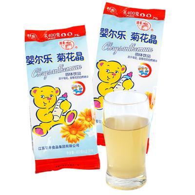 【梁丰旗舰店】婴尔乐菊花晶固体饮品438g 婴幼儿童冲饮品零食