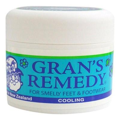 GRAN'S REMEDY 【品牌授权】老奶奶臭脚粉香港脚去膏药粉 泡粉50g 薄荷味 * 1瓶