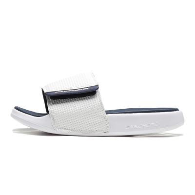 【自營】Skechers斯凱奇男鞋拖鞋時尚魔術貼露趾沙灘鞋休閑鞋51729