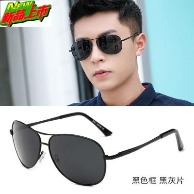 2020新款偏光太陽鏡男士墨鏡潮人蛤蟆駕駛司機鏡開車專用眼鏡潮流