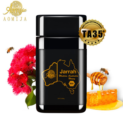 AOMIJA西澳洲原罐進口 天然活性純蜂蜜 紅柳銨樹蜜TA35 500g 滋養腸胃增強免疫 高活性因子 營養豐富