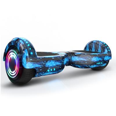 阿尔郎(AERLANG)电动代步平衡车 智能体感成人两轮车儿童双轮思维车扭扭漂移车 双轮-X3E-B蓝星空