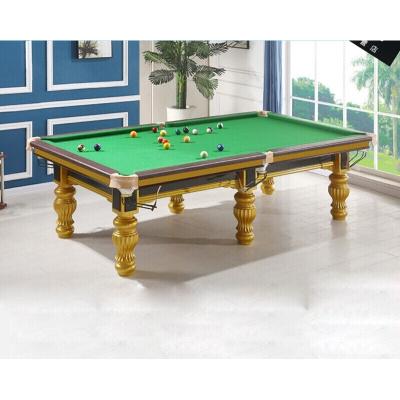 运动户外美式黑八台球桌标准家用成人16彩桌球台二合一乒乓球桌放心购