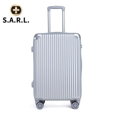 S.A.R.L брэндийн чемодан 78001 мөнгөлөг 28 инч
