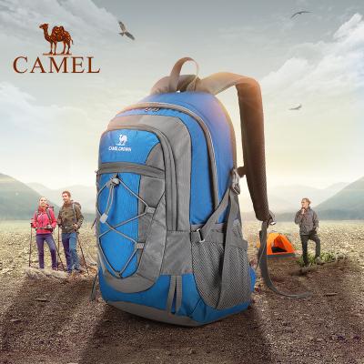 CAMEL骆驼户外登山包 2019新款30L男女款通用野营徒步旅行运动双肩登山背包