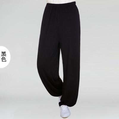 太極服褲莫代爾竹纖維練功武術男女青少中老年中國風燈籠大碼夏季