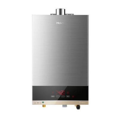 【99新】Haier/海爾JSQ24-T2S(12T)電力載波智控燃氣熱水器12升智能CO安防智控寶精確恒溫