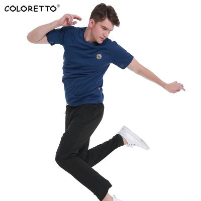 coloretto戶外2020新款速干T恤男吸濕排汗圓領短袖跑步T恤CT2061