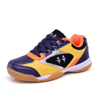 珂卡慕(KEKAMU) 儿童乒乓球鞋男童运动鞋防滑减振训练鞋少儿羽毛