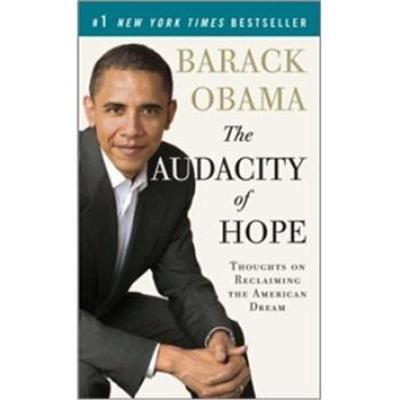 The Audacity of Hope奥巴马自传 无畏的希望 英文原版 Barack Obama(巴拉