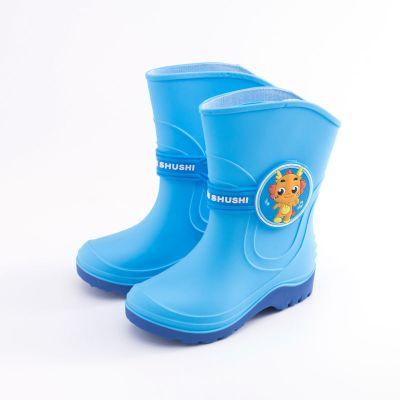 兒童雨鞋男童女童寶寶雨靴卡通公主防水防滑小孩學生中童水鞋 莎丞