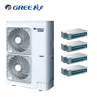 (GREE)格力 家用中央空調 5匹 STAR系列 一拖四 GMV-H120WL/A 全直流變頻 配HDC直流變頻室內機