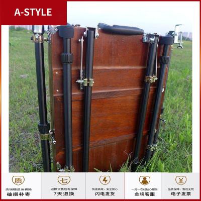 苏宁放心购油画箱40乘55cm一体式中号手提画架支架式户外写生实用A-STYLE