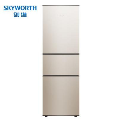 創維(SKYWORTH) D19B 191升三門冰箱 小冰箱 中門軟冷凍 節能靜音三門電冰箱 小冰箱家用(普利金)