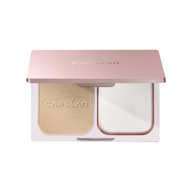 卡姿兰(CARSLAN) 恒丽透明粉饼9g(定妆修容 服帖 控油 遮瑕 保湿)