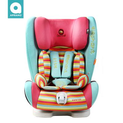 【Apramo】兒童安全座椅Eros汽車用車載isofix硬接口9個月-12歲寶寶