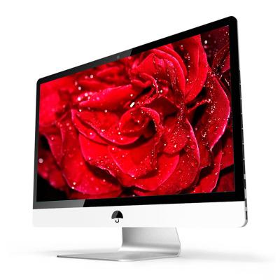 (典籍)18.5英寸一体机电脑 英特尔四核/8GB内存/256GB固态 家用办公商务娱乐影音游戏台式一体机电脑整机台式电脑一体机