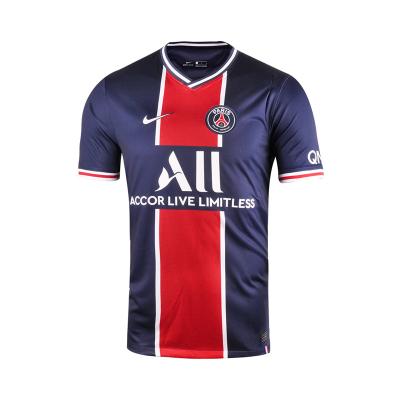 Nike/耐克 20-21賽季男子PSG巴黎圣日耳曼主場球迷球衣短袖 CD4242-411