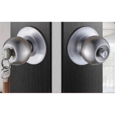 苏宁放心购球形锁家用通用型卧室房锁卫生间球锁室内锁球型锁锁具圆锁简约新款
